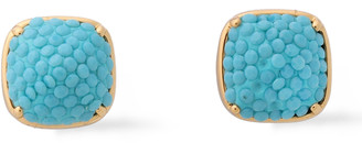 Kate Spade Clay Gold-tone Resin Earrings
