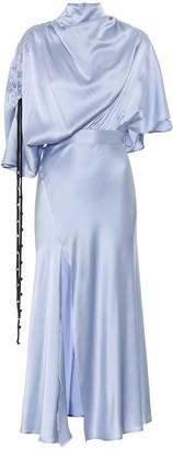 Ellery Soul Driver silk-satin midi dress