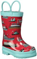 Hatley Ocean Liner Rainboots (Tod/Yth) - Red - 10 Toddler