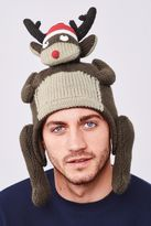 Brown Rudolph Hat