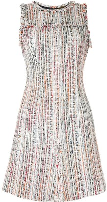 Elie Tahari Dean boucle tweed dress