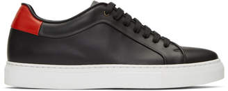 Paul Smith Black and Red Basso Sneakers
