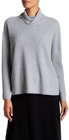Eileen Fisher Cashmere Turtleneck Box Top