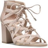 Franco Sarto Meena Block-Heel Lace-Up Sandals