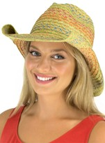 Jendi Multi Colour Stitch Cowboy Hat