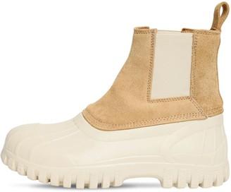Diemme 30mm Suede & Rubber Ankle Boots