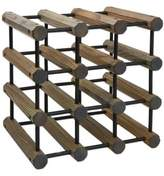 J.K. Adams 40-Bottle Driftwood Wine Rack