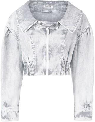 Miu Miu crop denim jacket