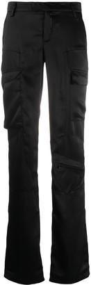 Misbhv Satin Cargo Trousers