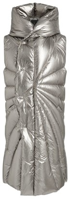 Rick Owens + Moncler Metallic Puffer Gilet