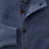 Charles Tyrwhitt Indigo blue heather cardigan