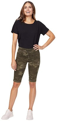 NYDJ 13 Pull-On Shorts with Roll Cuffs (Camo) Women's Shorts