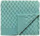 V&A Alhambra knitted blanket 130x150cm jade
