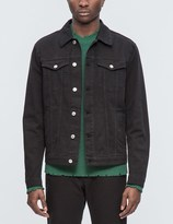 MSGM Patch Denim Jacket