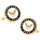 Accessories Navy Insignia Cuff Links