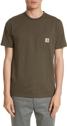 Carhartt Work In Progress Logo Pocket T-Shirt