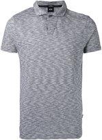 HUGO BOSS plain polo shirt - men - Cotton - S