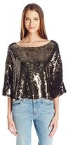 Tracy Reese Women's Sequin Top