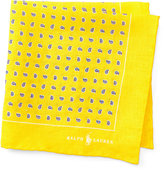 Ralph Lauren Neat Linen Pocket Square
