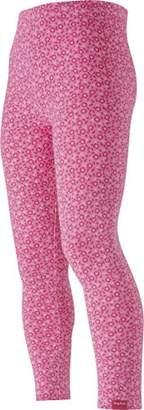 Playshoes Girl's Leggings lang Blumen Allover rosa,(Size:98cm)