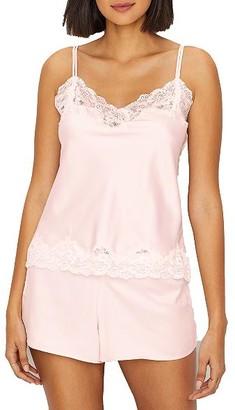 Lauren Ralph Lauren Siganture Satin Cami Pajama Set