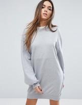 Missguided Balloon Sleeve Sweater Dress
