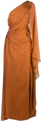 Cult Gaia Cosette asymmetric gown