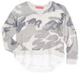 Menu Girl's Camo Sweatshirt