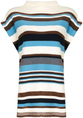 Coohem Striped Knitted Top