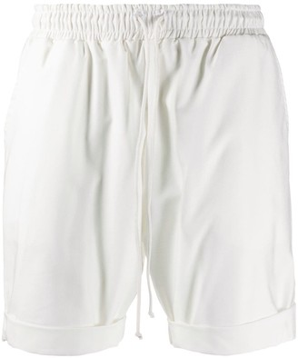 Alchemy High-Waisted Track Shorts