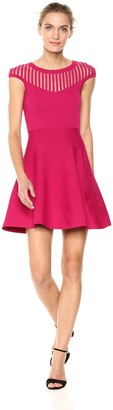 French Connection Women's Tobey Crepe Knits Dress