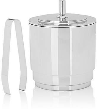 Georg Jensen Manhattan Ice Bucket & Tong Set