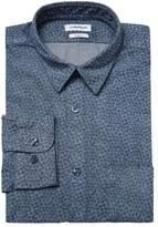 J. Lindeberg Men's Daniel CL S Printed Slim Fit Dress Shirt
