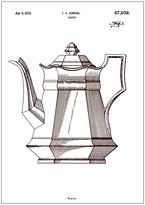 Teapot Wall Print
