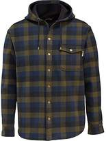 Wolverine Men's Bucksaw Duralock Bonded Micro-Fleece Hooded Shirt Jacket