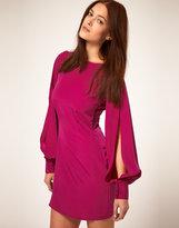Asos Slash Back Dress with Split Sleeve