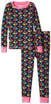 Hatley Nordic Petals Henley Pajama (Toddler/Little Kids/Big Kids)
