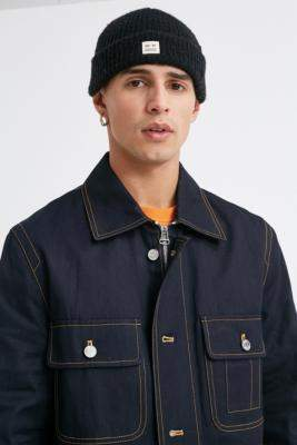 Band Of Outsiders Twill Workwear Jacket - blue M at Urban Outfitters