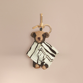 Burberry Thomas Bear Charm in Calfskin Poncho