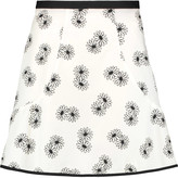 See by Chloe Printed cotton mini skirt