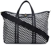 Pierre Hardy 'Polycube' tote - unisex - Calf Leather/Canvas - One Size