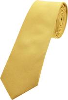 Oxford Silk Tie Yellow Reg X