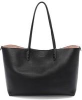 Alexander McQueen Medium Calfksin Leather Shopper - Black