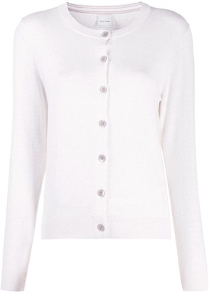 Paul Smith Long-Sleeve Fitted Cardigan
