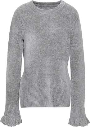 Elie Tahari Embla Metallic Knitted Sweater