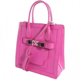 Proenza Schouler PS11 Pink Leather Handbags