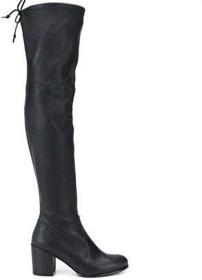 Stuart Weitzman Knee Length Heeled Boots