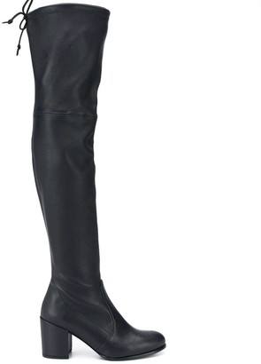 Stuart Weitzman knee length heeled boots
