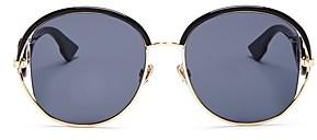 Christian Dior Women's New Volute Round Sunglasses, 57mm