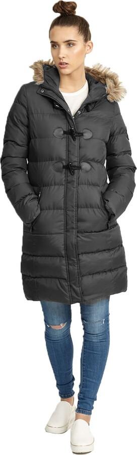 Thumbnail for your product : Brave Soul Ladie's Jacket WIZARDLONGZ Black UK 10